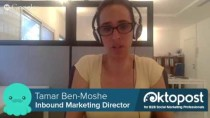 Oktopost:  Inbound Marketing Director Tamar Ben-Moshe * WTTV 1.19