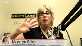 Madalyn Sklar @madalynsklar on Twitter Chat as a Tool #ggchat #SocialCafe #WebToolsTV